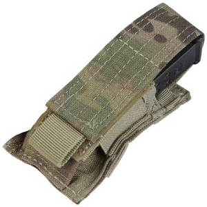 Condor single Pistol Magazine Pouch MA32-008: Single Pistol Mag Pouch - MultiCam