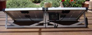 GlowTech - Glow Tech 60w dual solar panel system 30w solar panels