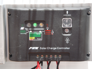 GlowTech PWM Pulse Width Modulation charge controller for solar systems