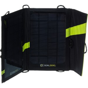 GoalZero Nomad7 portable solar charging for batteries
