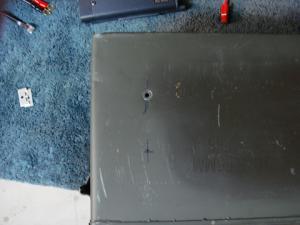 Yaesu -FT-8900R mounting hole width