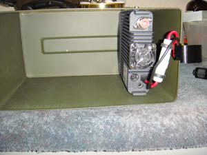 Yaesu ft-8900r mounted in my go-box