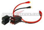 Powerwerx ATC Style Fuse Holders with F-Type Connectors and Powerpoles