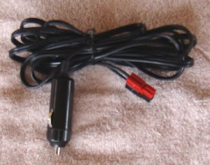 12vDC adapter cable for the portable radio box.