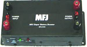 MFJ-4416B battery voltage booster