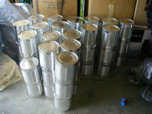 #10 cans of food storage