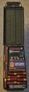 Shotgun Ammunition loadout in a .50cal ammo can