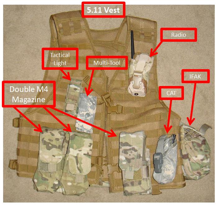 5.11 VTAC LBE Tactical Vest