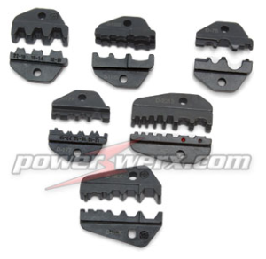 Powerwerx TriCrimp Interchangeable accessory die sets for the TRIcrimp powerpole crimping tool