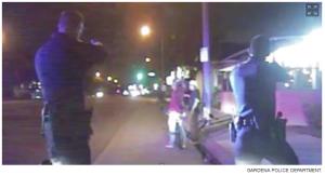 gardena california police murder unarmed man