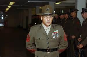 USMC marine drill instructor
