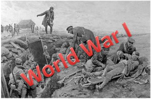 President Wilson pushes us into world war 1 WWI