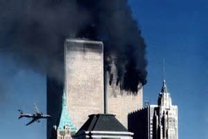 9/11 WTC second 2nd plane hits WTC tower