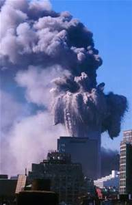 9/11 second 2nd WTC tower collapses