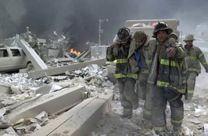 9/11 firefighter injured