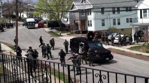 Boston Martial Law police state unconstitutional