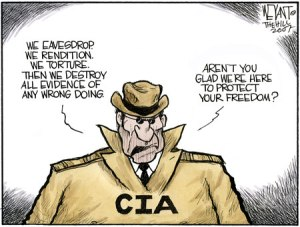 CIA is evil