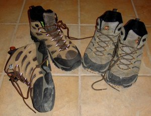 Merrell Moab mid ventilator and waterproof