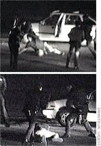 LAPD beat Rodney King
