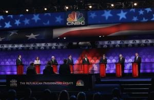 CNBC October Presidential debate