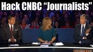 CNBC GOP Debate leftist liberal hacks