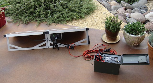 Glowtech60 charging a power box battery