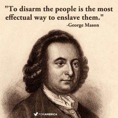 Gearoge Mason Founding Father on gun control