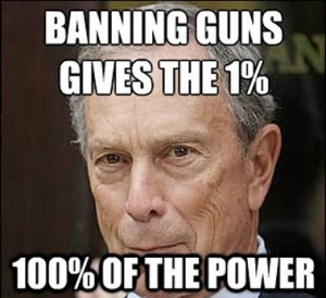 outlawing guns give teh elites absolute power