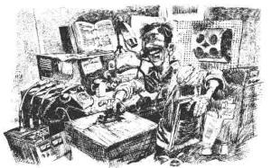 integrated Ham Radio Set-Up