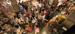 Panic Buying as hurricane approaches