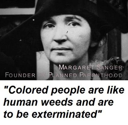Planned Parenthood founder Sanger