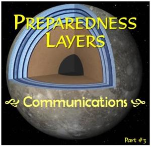Preparedness Layers - communications