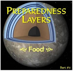 emergency Preparedness layers food
