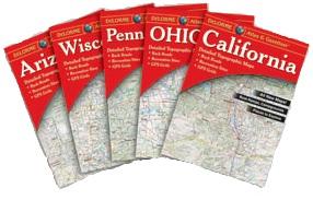 Delorme Atlas & Gazetteer states