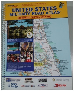 military Road Atlas