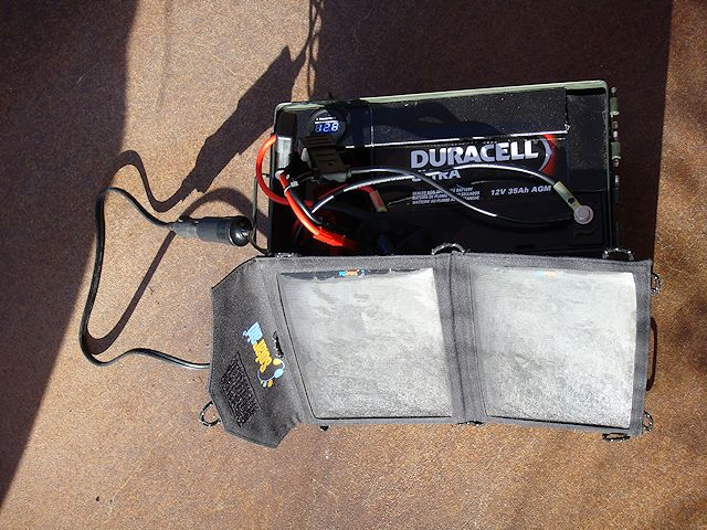 SolPad7 & Power Box configuration
