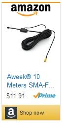 Amazon - Aweek Antenna UV-108UV