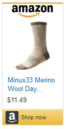 Amazon-Minus33 Merino Wool Day Hiker Sock