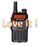 Baofeng UV-5RA Love It