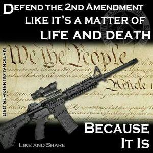 Defend the 2nd second Amendment