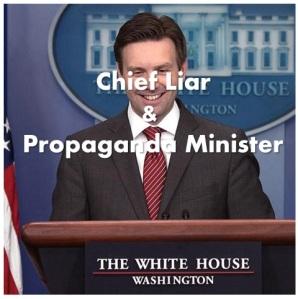 Josh Ernst chief liar and propaganda minister