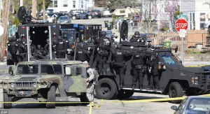 Police Are The Military occupation force