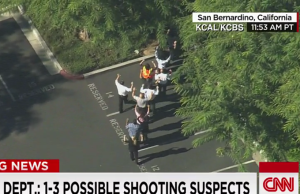 san bernadino victims With Hands Up - cop thugs