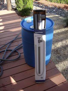 Water Barrel Pump