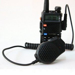 Baofeng UV-5R with SpeakerMic