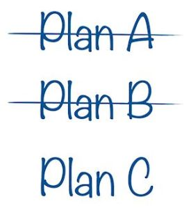 Plan A plan B plan C-011
