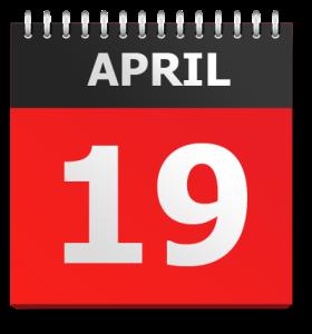 April1 9th, 1775
