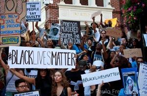 black lives matter violence