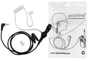 Covert earpiece and mic headset - ABCgood