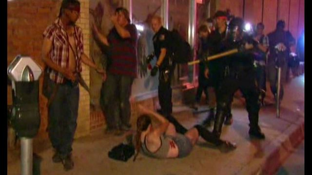 Police Violence against woman